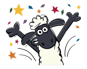Shaun The Sheep Sticker 39