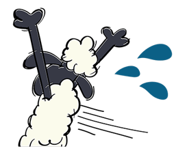 Shaun The Sheep Sticker 48