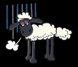 Shaun The Sheep Sticker 50