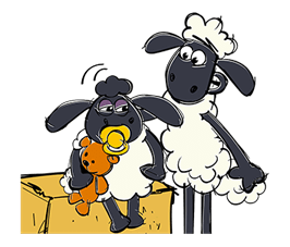 Shaun The Sheep Sticker 51