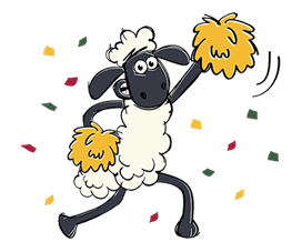 Shaun The Sheep Sticker 55