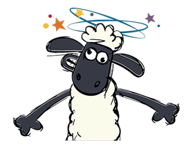 Shaun The Sheep Sticker 57