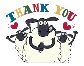 Shaun The Sheep Sticker 58