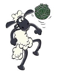 Shaun The Sheep Sticker 59