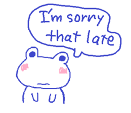 Small Frog Kero Sticker 4