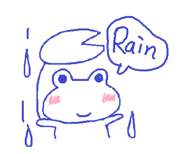 Small Frog Kero Sticker 6