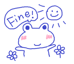 Small Frog Kero Sticker 7