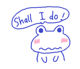 Small Frog Kero Sticker 8