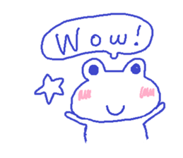 Small Frog Kero Sticker 9