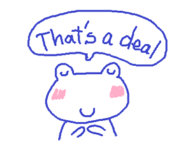 Small Frog Kero Sticker 10