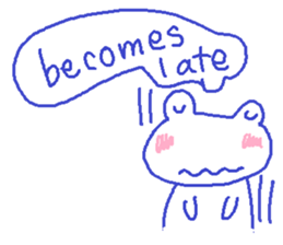 Small Frog Kero Sticker 12