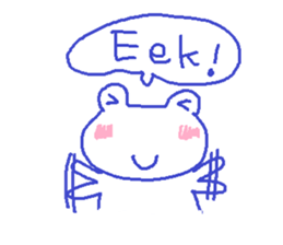 Small Frog Kero Sticker 14