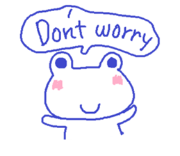 Small Frog Kero Sticker 21