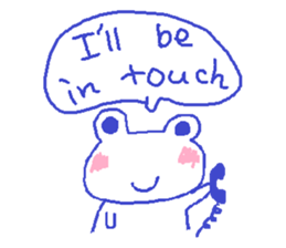 Small Frog Kero Sticker 26