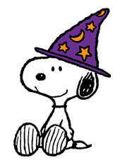 Snoopy Halloween Stickers 9