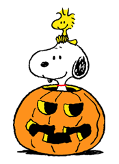 Snoopy Halloween Stickers 16