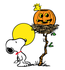 Snoopy Halloween Stickers 17