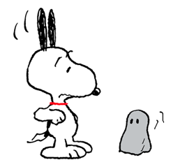 Snoopy Halloween Stickers 18