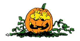 Snoopy Halloween Stickers 26