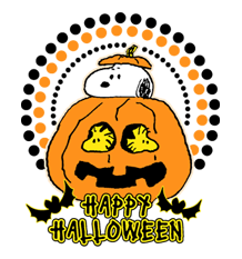 Snoopy Halloween Stickers 29