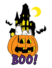 Snoopy Halloween Stickers 30