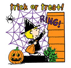 Snoopy Halloween Stickers 31