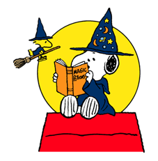 Snoopy Halloween Stickers 33
