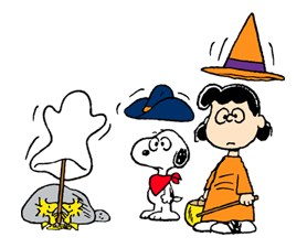 Snoopy Halloween Stickers 35
