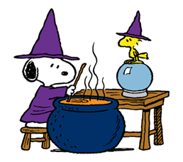 Snoopy Halloween Stickers 38