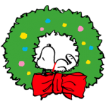 Snoopy Christmas Stickers 4