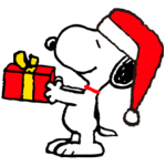 Snoopy Christmas Stickers 5