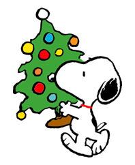 Snoopy Christmas Stickers 7