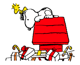 Snoopy Christmas Stickers 8