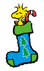 Snoopy Christmas Stickers 11