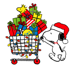 Snoopy Christmas Stickers 12