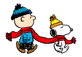 Snoopy Christmas Stickers 13
