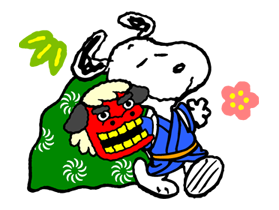 Snoopy Christmas Stickers 22