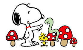 Snoopy Christmas Stickers 27