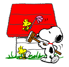 Snoopy Christmas Stickers 34