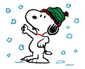 Snoopy Christmas Stickers 38