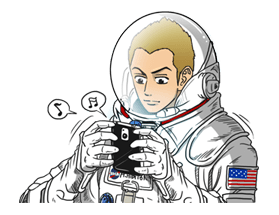 Space Brothers Stickers 19