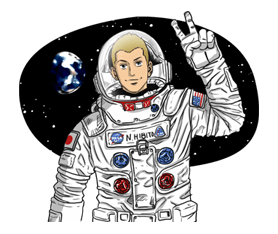 Space Brothers Stickers 21
