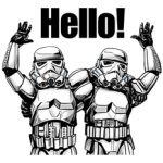 Star Wars Kaiser Sticker-Sammlung 2
