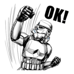Star Wars Imperial Collection Sticker 4