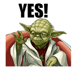 Star Wars Yoda Stickers Collection 2