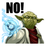 Colectia Star Wars Yoda Stickere 3