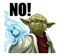 Star Wars Yoda Stickers Collection 3