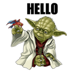 Star Wars Yoda klistremerker Collection 5