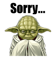 Star Wars Yoda Stickers Collection 7