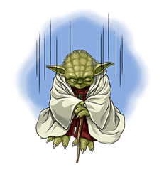 Star Wars Yoda Stickers Collection 8